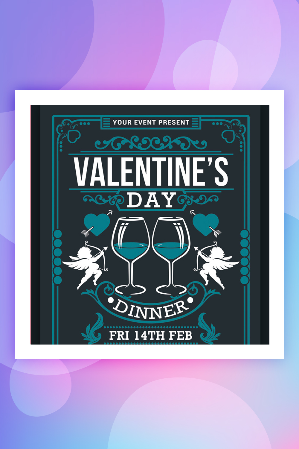 Valentine's Day Dinner Corporate Identity Template