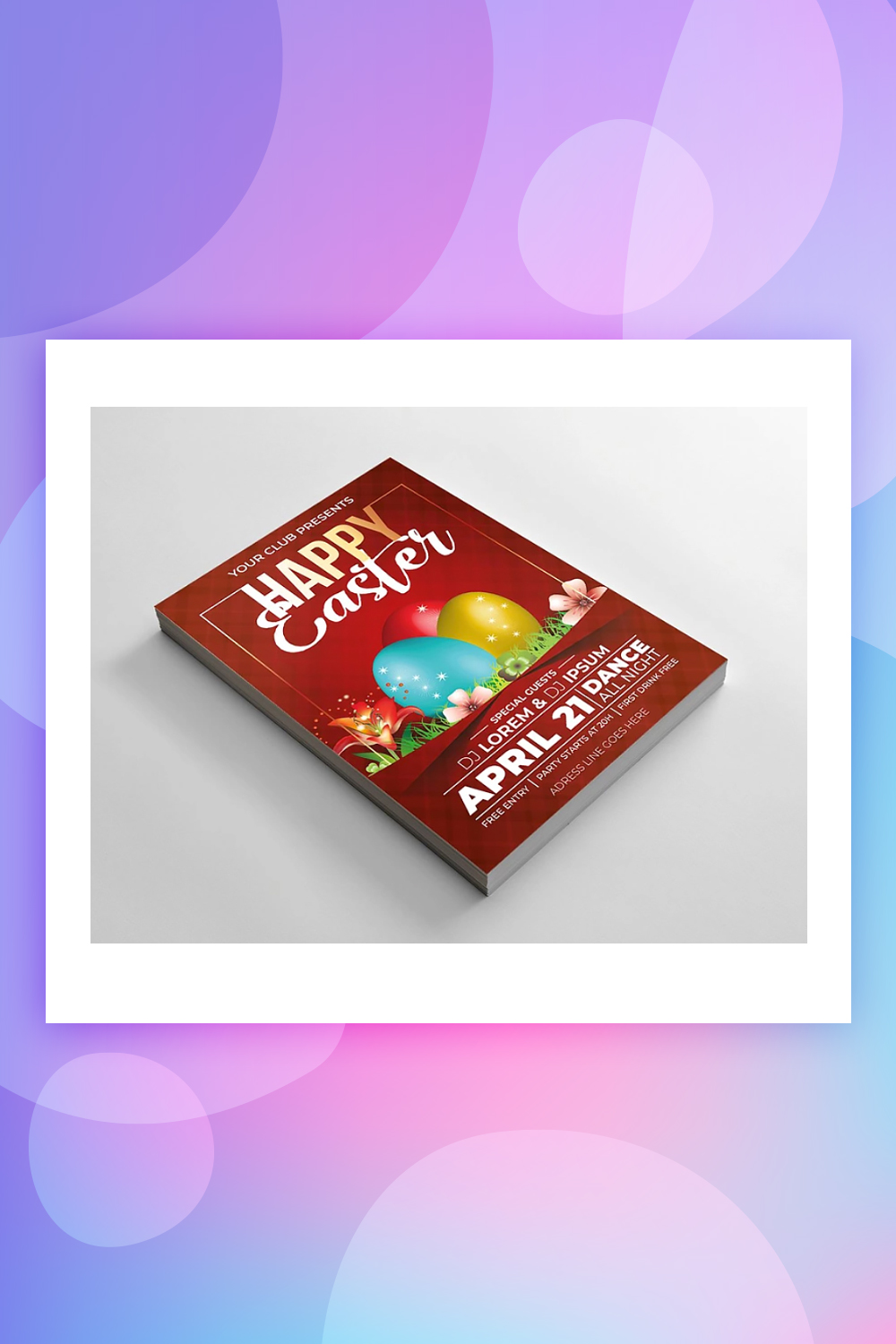 Easter Flyer Corporate Identity Template
