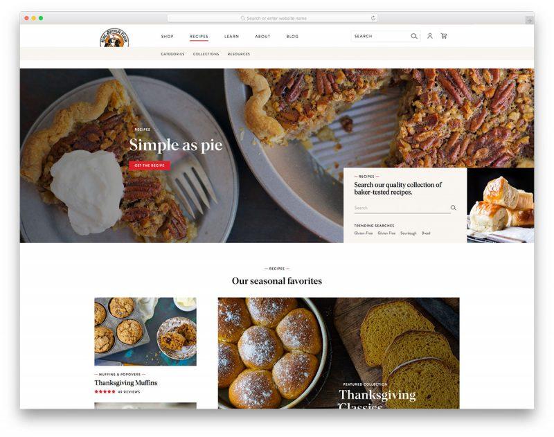 20 Best Bakery Websites Design For Inspiration 2019