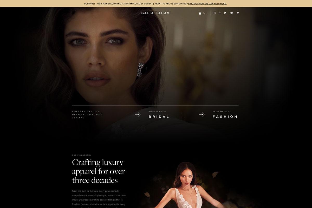 20 Best Fashion Websites Design For Inspiration 2020 Colorlib