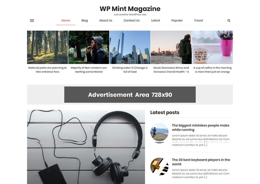 WP Mint Magazine