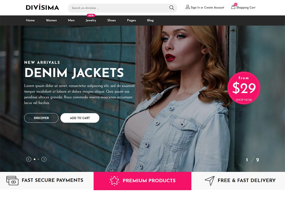 27 Best Free Ecommerce Website Templates 2020 Colorlib