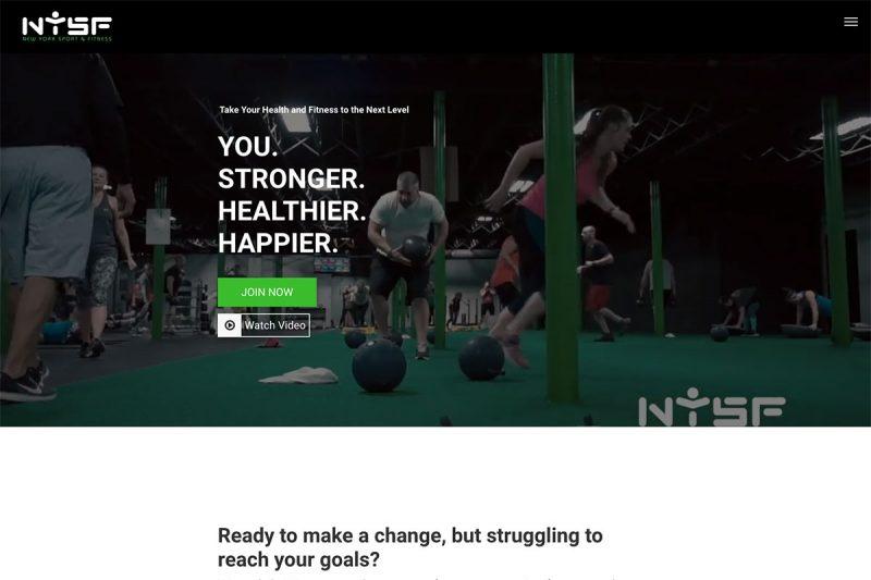 20 Best Gym Website Design Inspiration To Empower Gym, Fitness Centers 2020