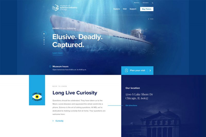 20 Best Museum Website Designs For Inspiration 2020 Colorlib