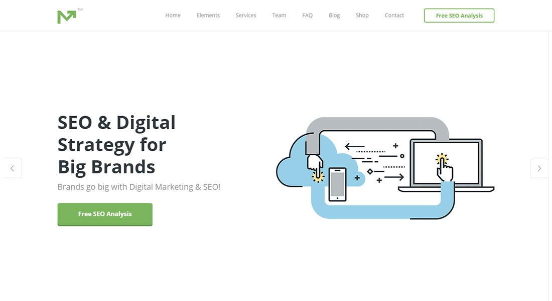 Marketing Pro seo agency WordPress theme