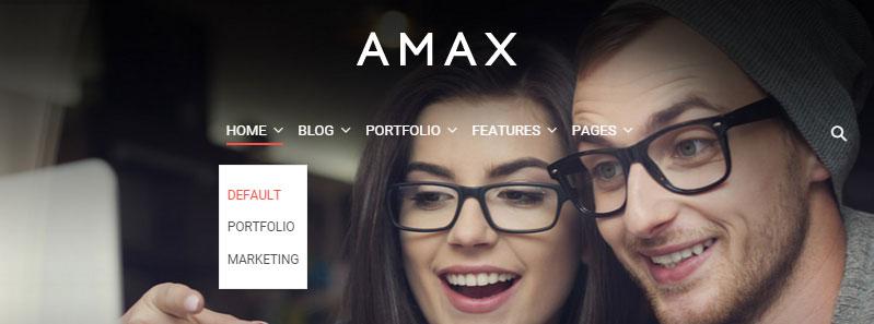 AMAX Header 02
