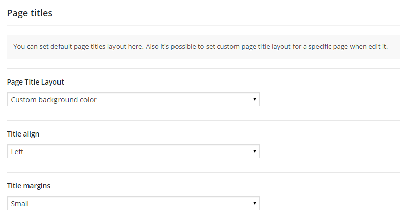 AMAX Page Titles