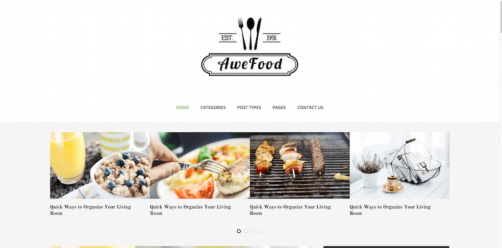 AWEBlog Responsive HTML5 Template