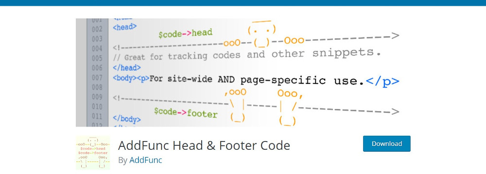 Ad Func Header and Footer