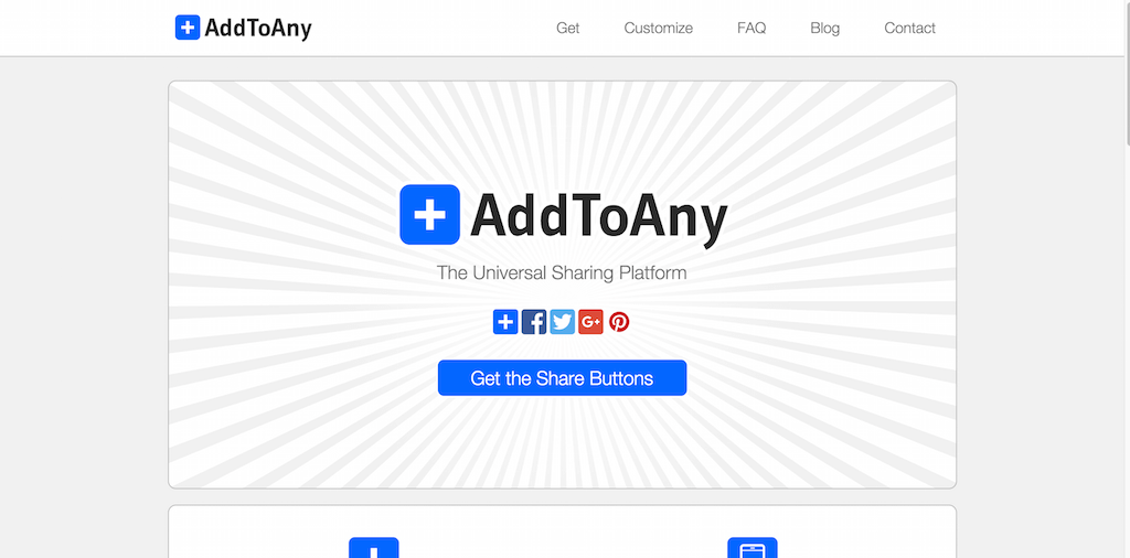 AddToAny Share Buttons and Icons