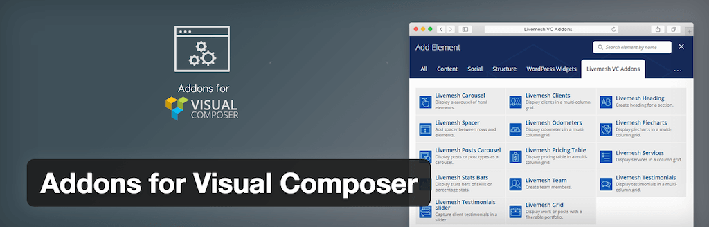 Addons for Visual Composer — WordPress Plugins