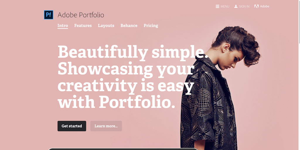 Adobe Portfolio Build your own personalized website