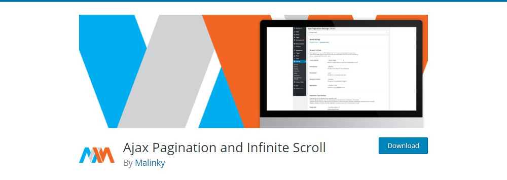 Ajax Pagination and Infinite Scroll