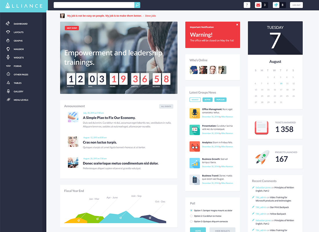 20 Intranet Extranet Templates Coworking Wordpress Themes 2019