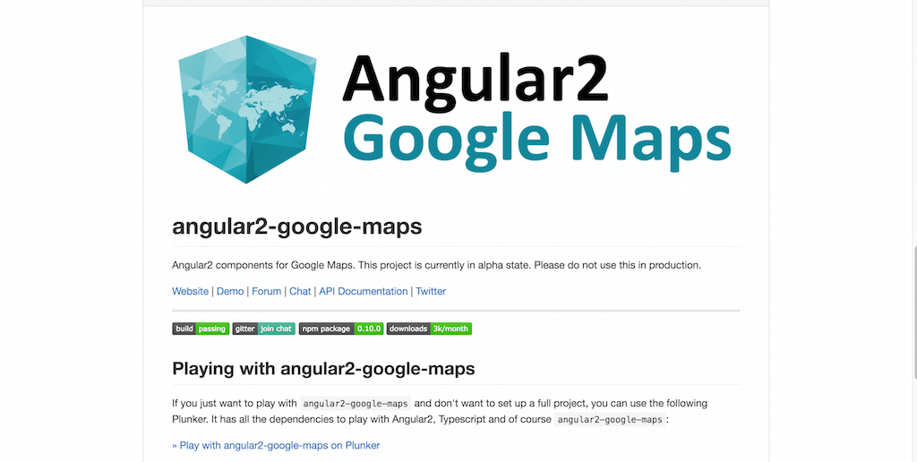 Angular 2 Directives for Google Maps