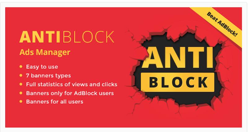 AntiBlock Ads Manager