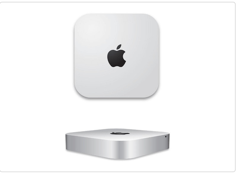 Apple Mac Mini Vector