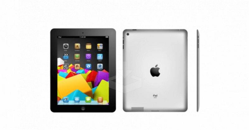 Apple iPad 2 Vector