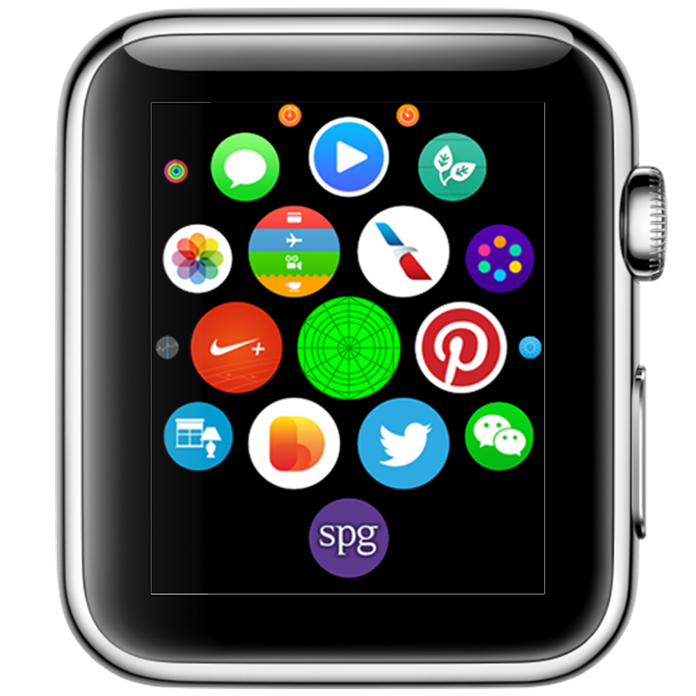 Free Apple Watch Simple PSD Template