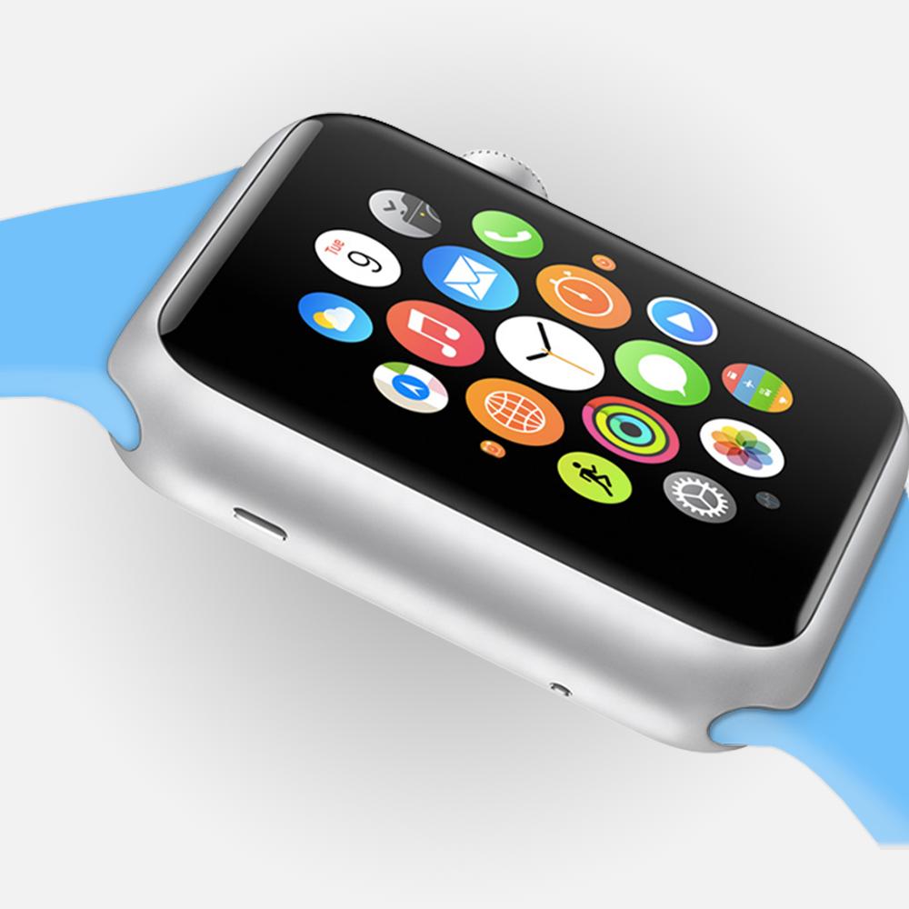 Free Apple Watch PSD Sport Mockup Template