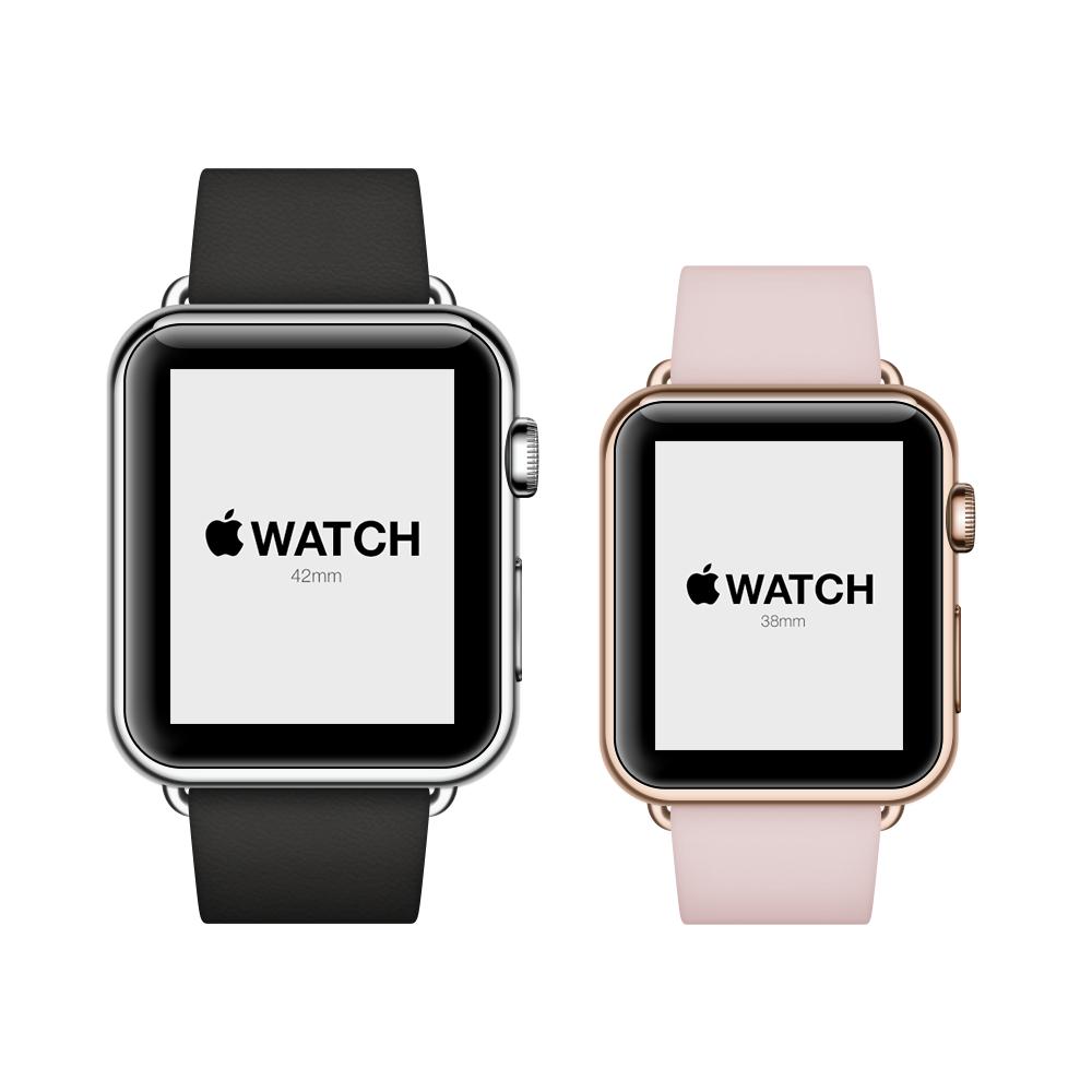 Free Apple Watch PSD Template