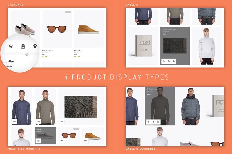 Product Display Options