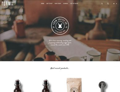 Atelier WordPress Theme Review