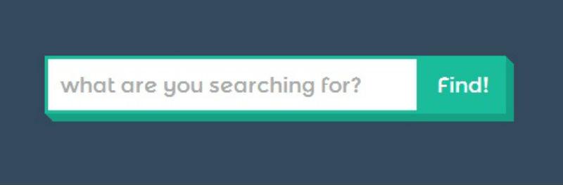 Attractive Search Box