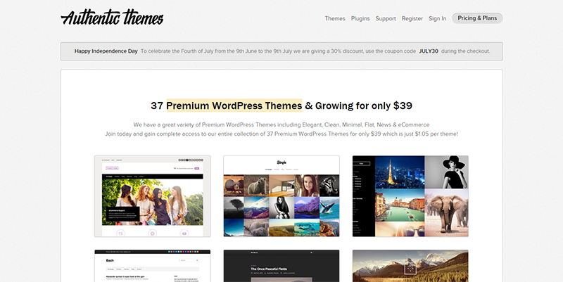 Authentic Themes -