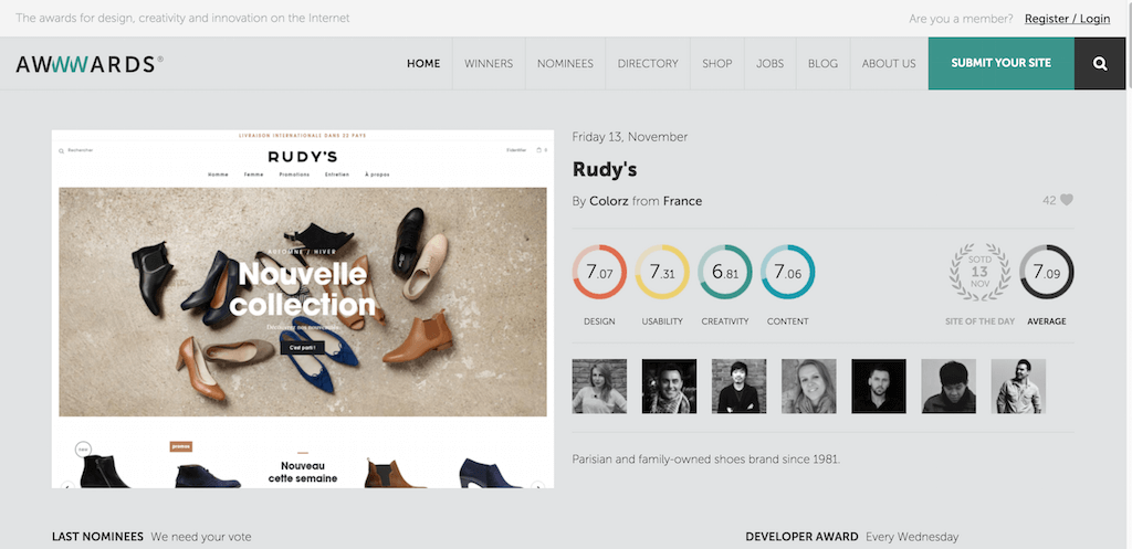 Top Showcase Inspiration Sites For Web Designers Colorlib