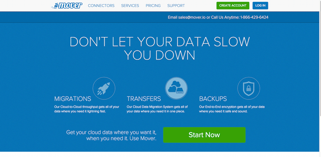 Backup Copy and Migrate Files Between Cloud Storage Services Mover
