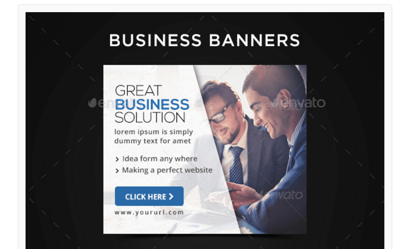 Banners Set for Business Projects
