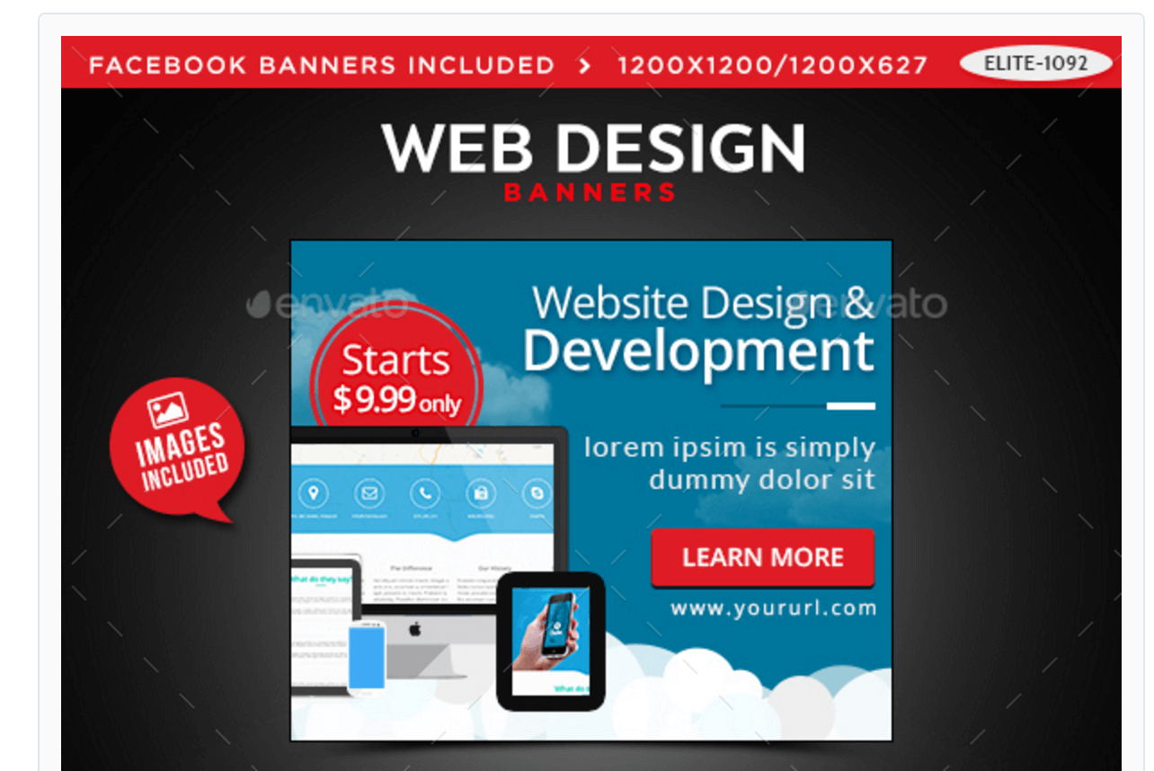 Banners for Web Design & Development Agencies