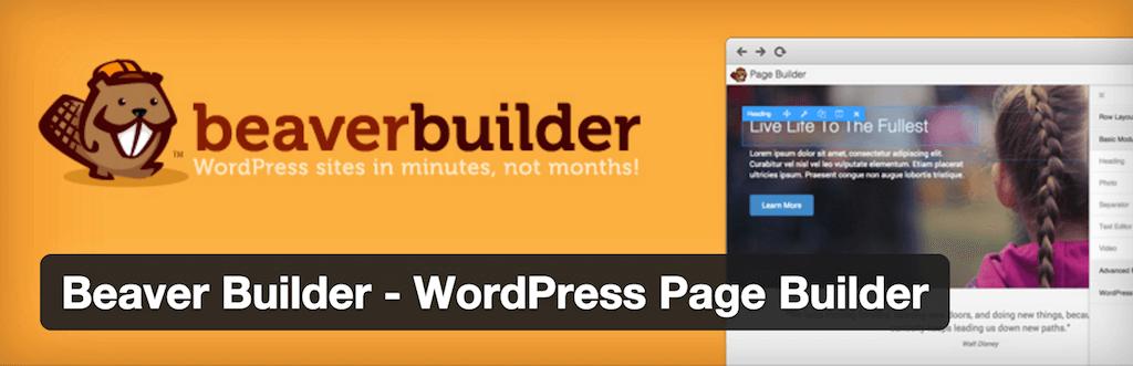 Beaver Builder WordPress Page Builder — WordPress Plugins