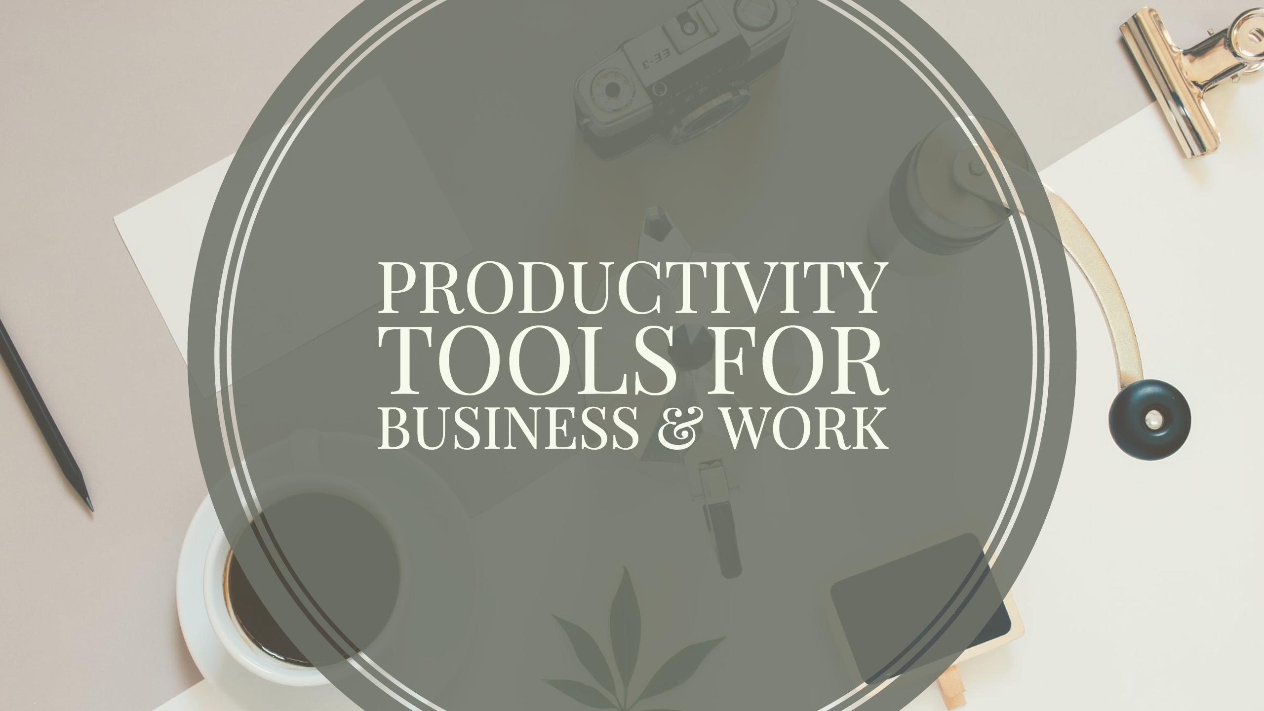 The 27 Best Productivity Tools for Business & Work - Colorlib