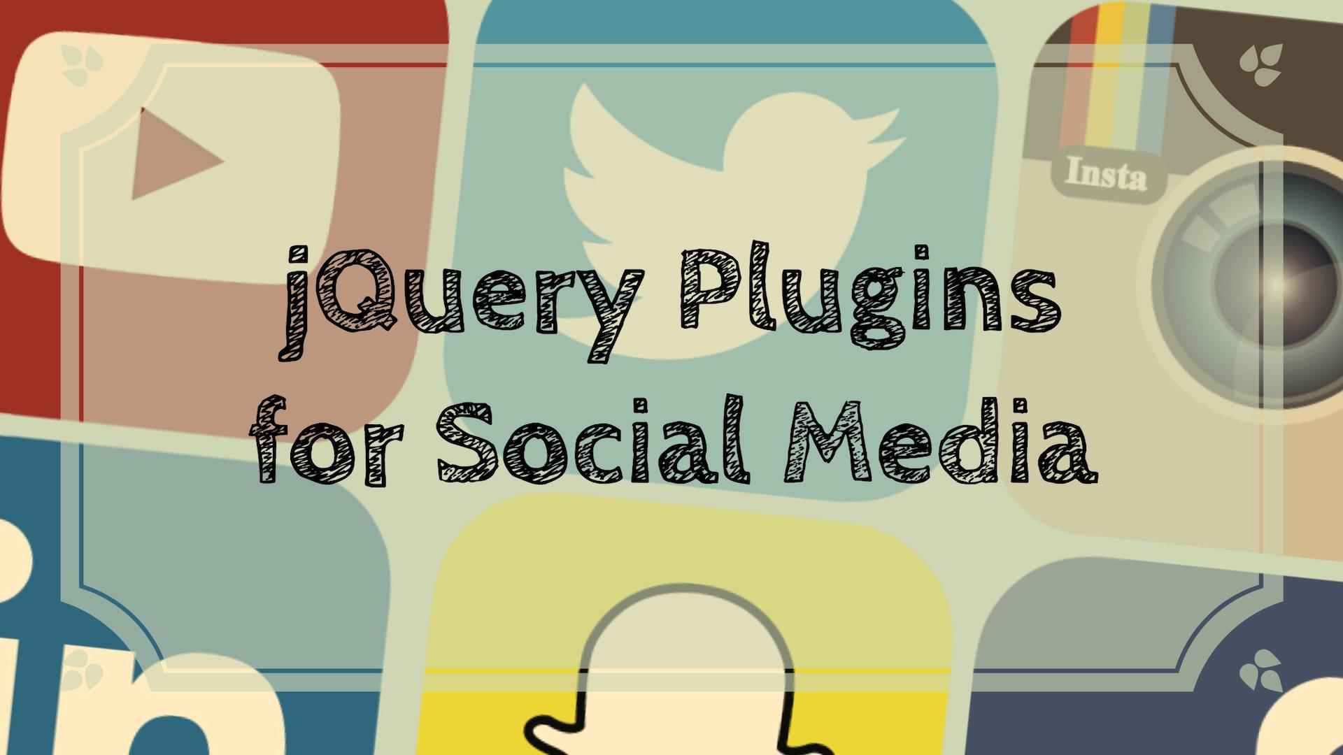 Top 22 JQuery Plugins For Social Media Sharing 2020