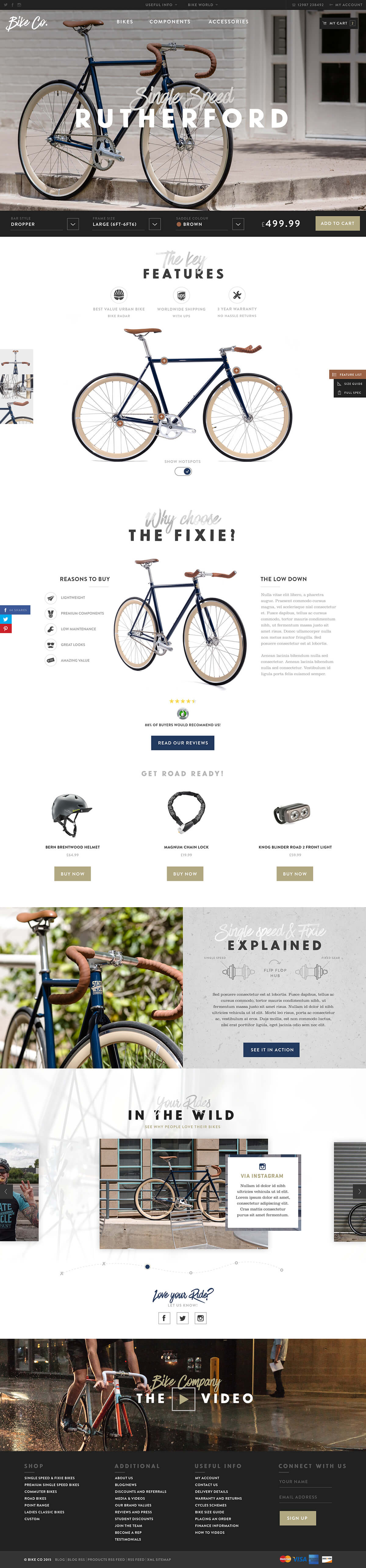 Bike co - behance
