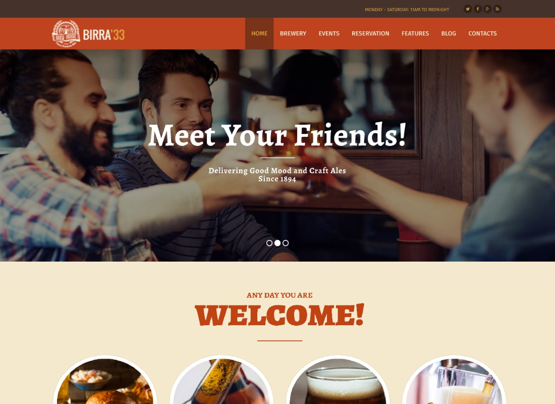 , 10 Coolest Bar and Pub WordPress Themes to Design a Great Website For Your Business, Rojak WP