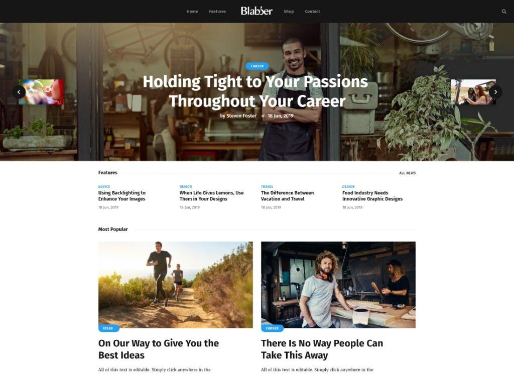 Blabber   All-in-One Elementor Blog & News Magazine WordPress Theme + RTL