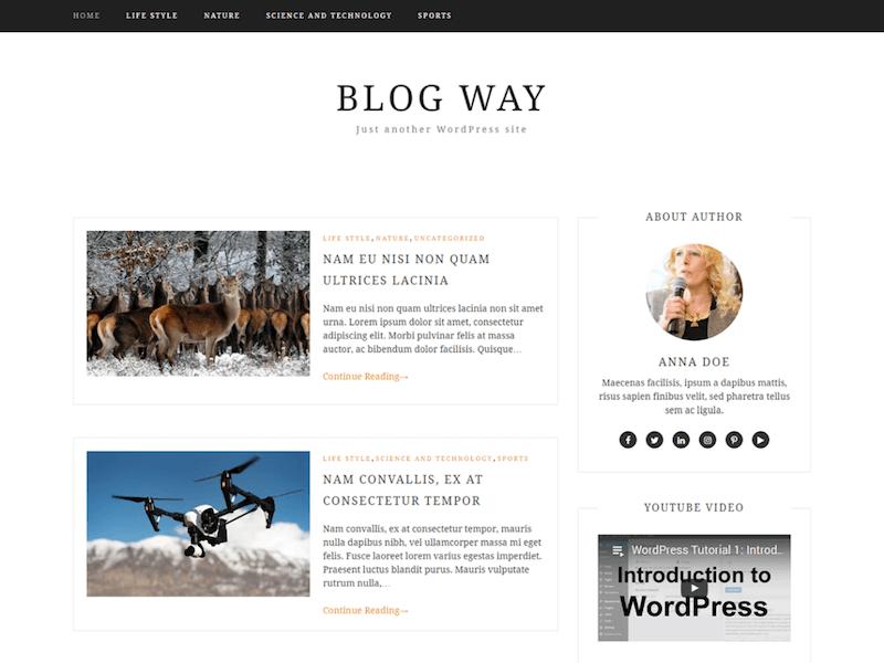 블로그 방식