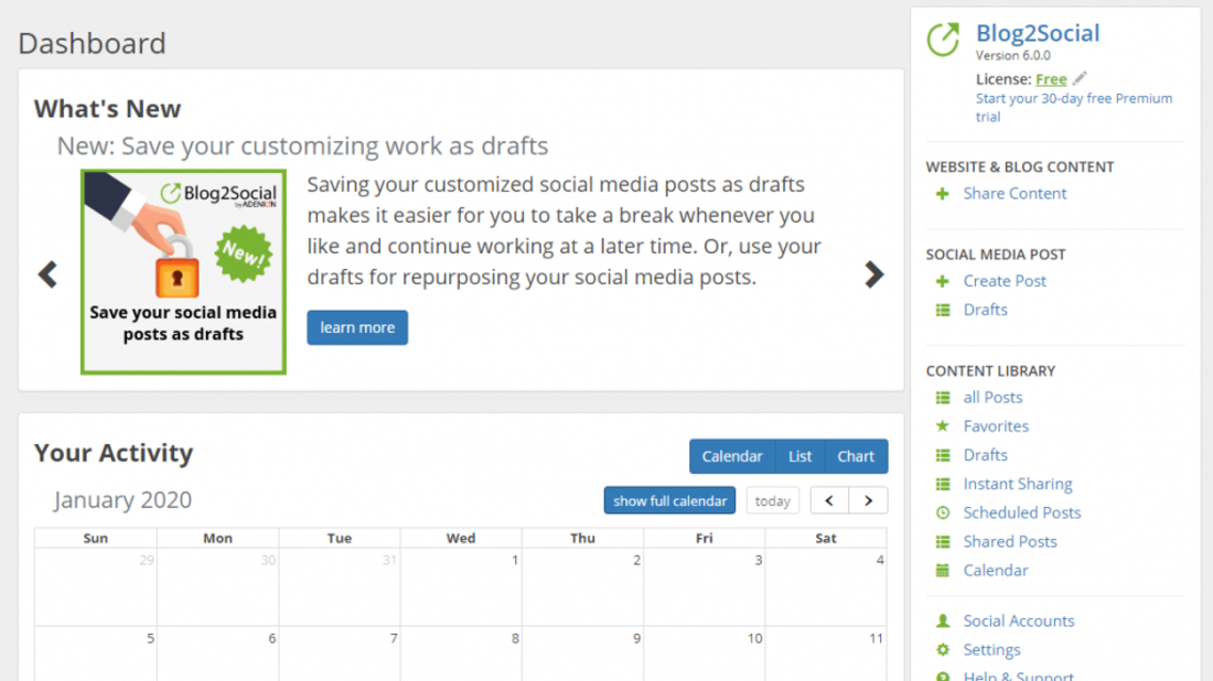Blog2Social Plugin to Share Your Posts Automatically in 16 Different Websites