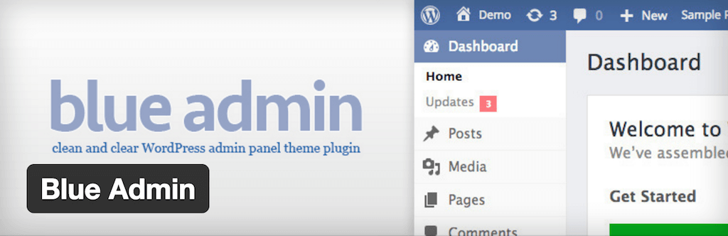 Blue Admin — WordPress Plugins