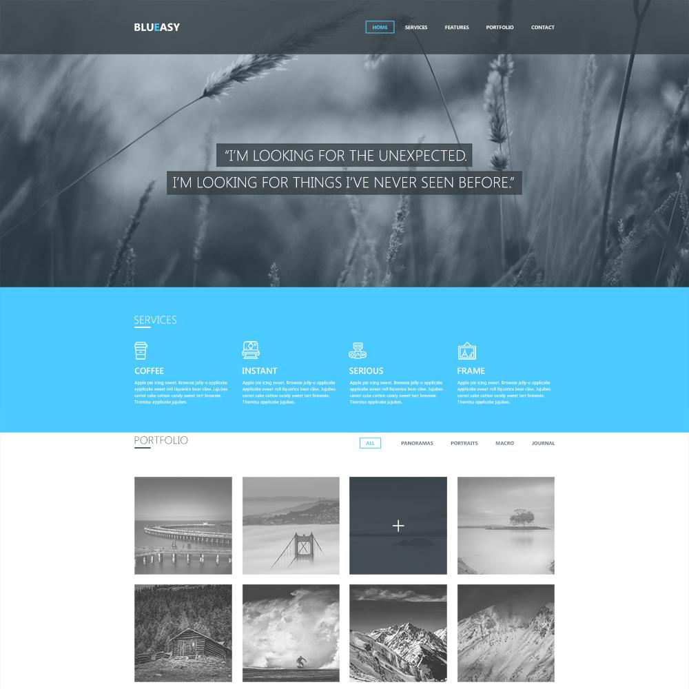 Blueasy PSD Portfolio Template