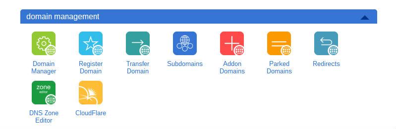 Bluehost Review domain-management