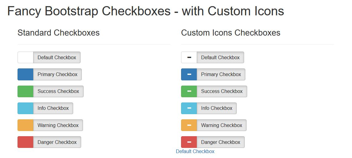 18 Amazing Free Bootstrap Checkbox Examples 2019 - Colorlib