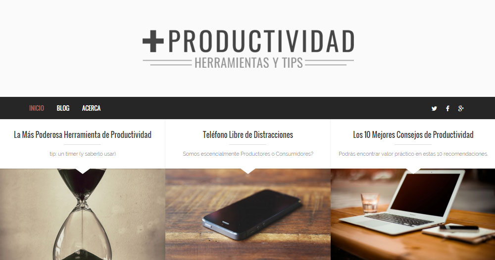 Brixton WordPress Theme Review Productivity