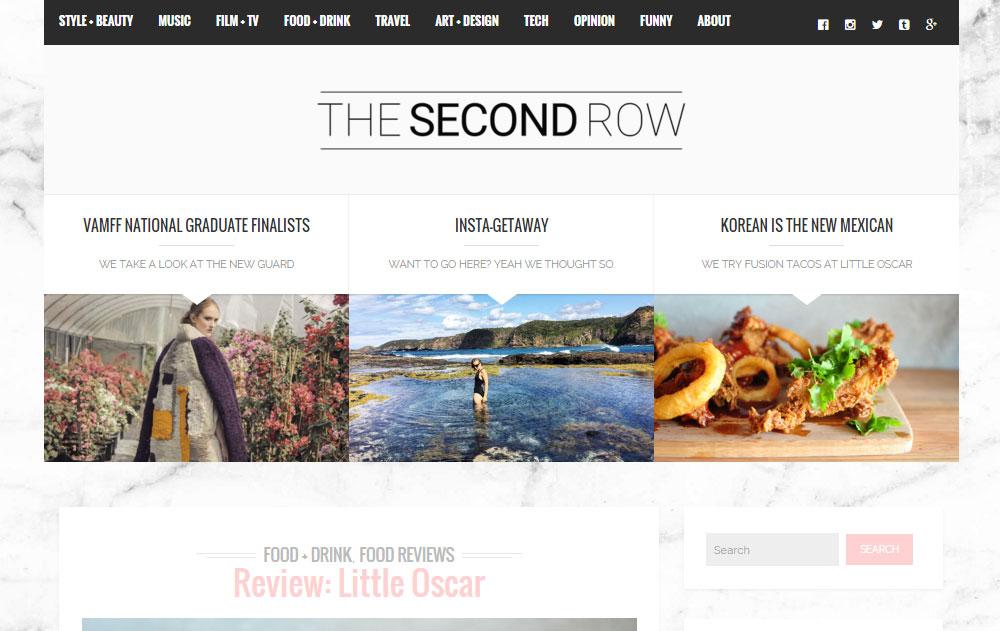 Brixton WordPress Theme Review SecondRow