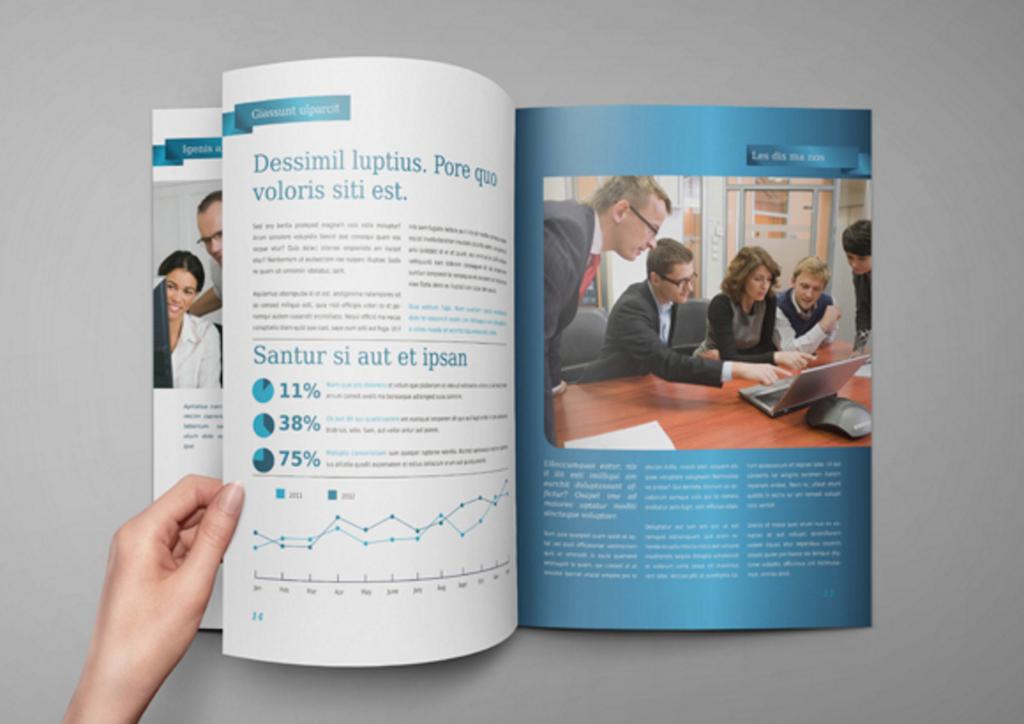 Brochure : Catalog : Magazine Mock-Up