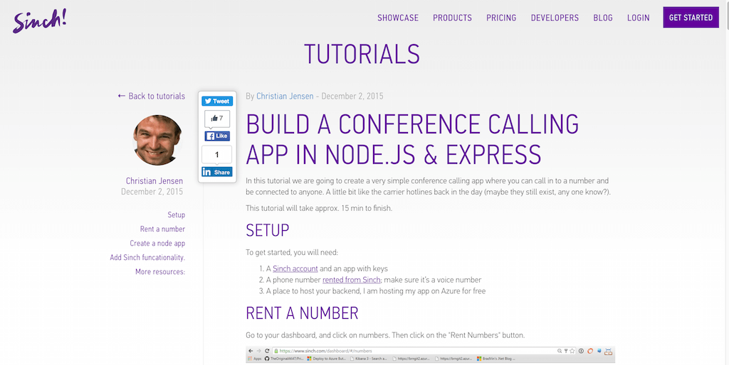 Build a Conference Calling App in Node.js & Express