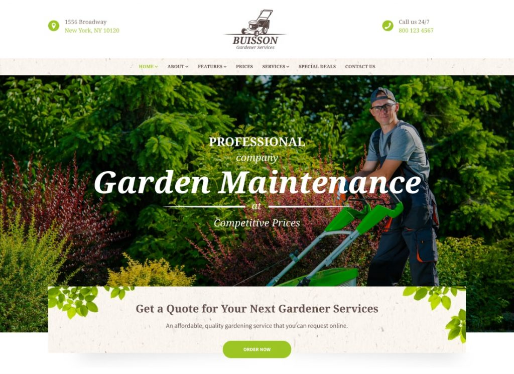 , 2021 Top Home Maintainance Services WordPress Themes to Sell Your Services Online, Rojak WP